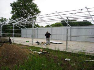 Wysokiej klasy i jakości materiały na hale namiotowe
