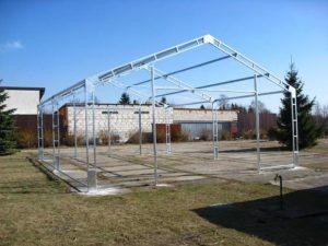 Projekty hal namiotowych