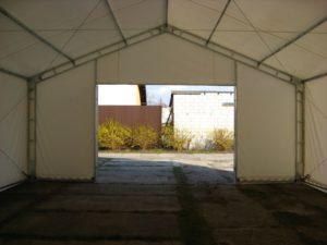 Spersonalizowane hale namiotowe