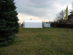 Hale namiotowe na imprezy Łódź