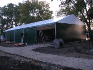 Personalizacja hal namiotowych