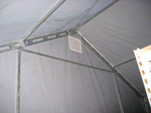 Wentylacja w hali namiotowej