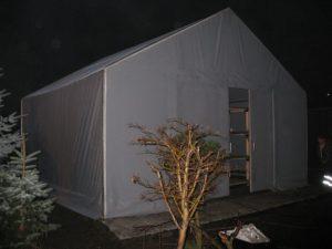 Pokrycie hali namiotowej ma duże znaczenie