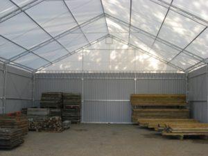 Sprzedaż namiotów halowych