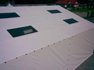 Projekty indywidualne namiotów halowych