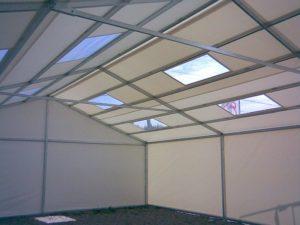 Hale namiotowe, nowoczesnej i przestrzennej konstrukcji