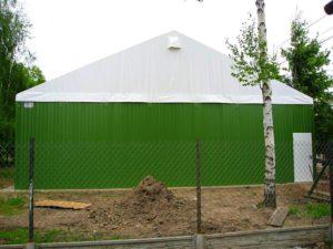 Namioty magazynowe o konstrukcji lekkiej