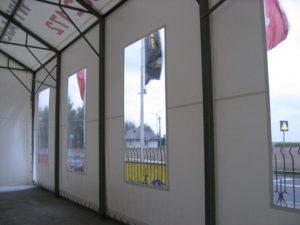 Wzmocnienie konstrukcji stalowej hali magazynowej Warszawa