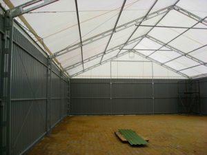 Namioty halowe do ogólnego zastosowania