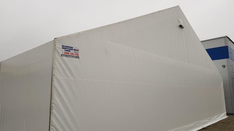 Namiot magazynowy biały