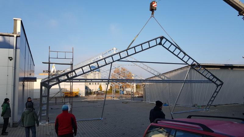 Namioty magazynowe, solidne konstrukcje stalowe