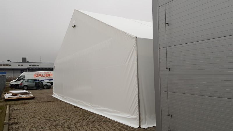 Namioty magazynowe, duże doświadczenie