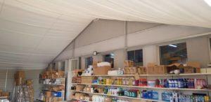 Realizacja namiotu magazynowego w Katowicach